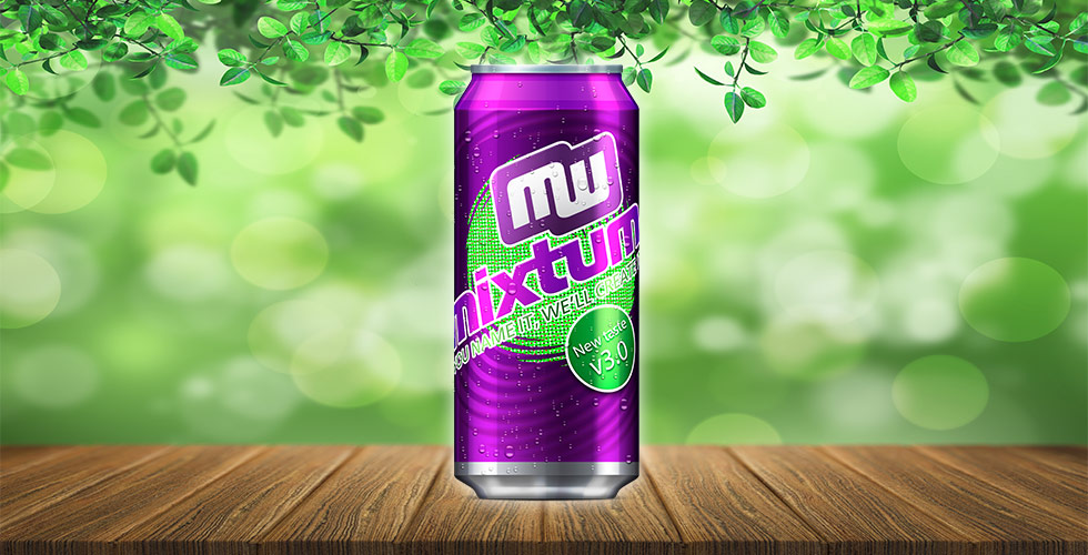 Mixtum can, energy drink